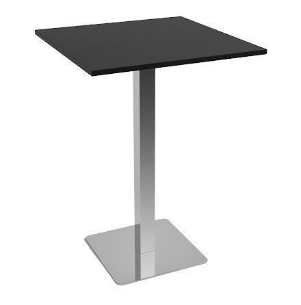 Ståbord 800x800 svart