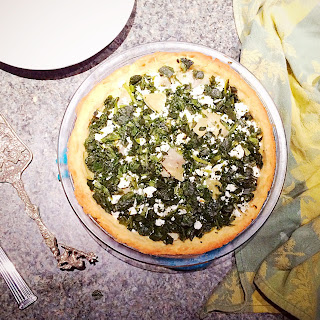 Low Carb Spinach Pie.