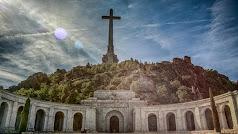 Imagen del Valle de los Caídos, donde está enterrado el dictador Francisco Franco.