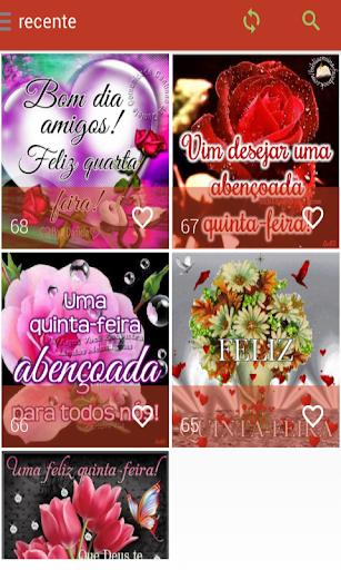 Mensagens de Quinta Feira 2.0.0.0 screenshots 1