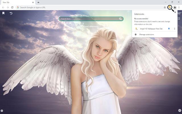 Angel Best Wallpapers New Tab