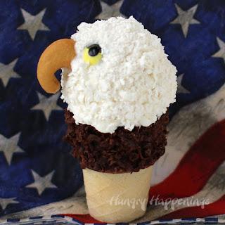 Mini Ice Cream Cone Eagles