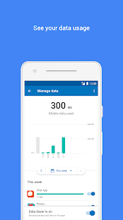 Datally: data saving app by Google Screenshot