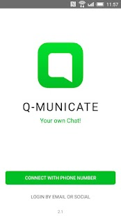 Q-municate - IM & video calls- screenshot thumbnail