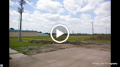 Video: Time Lapse of Construction of New Building West Brook HS 1/6 of sec per frame
