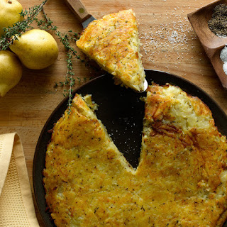 Herbed Rösti Potato Cake.