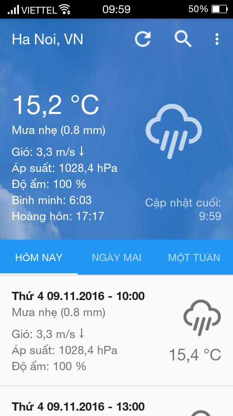 Weather Forecast Plus- screenshot