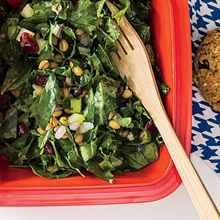Wheat Berry, Kale, and Cranberry Salad Recipe