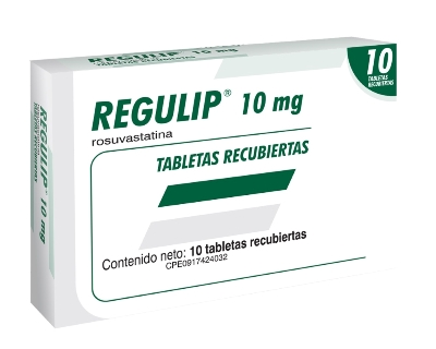 Rosuvastatina Regulip 10 mg x 10 Tabletas Farma 10 mg x 10 Tabletas
