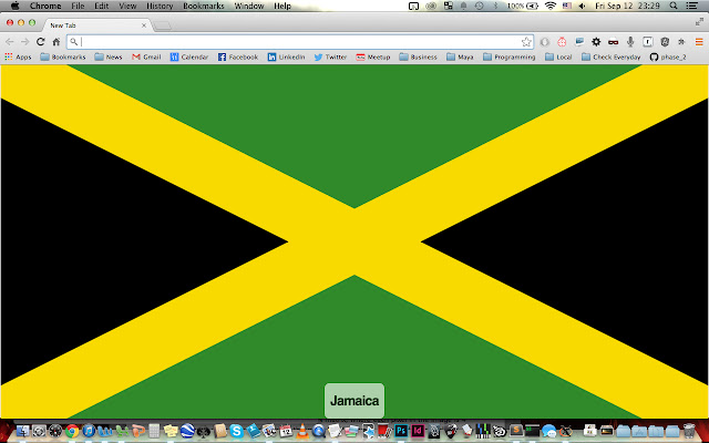 New Tab? Flag!