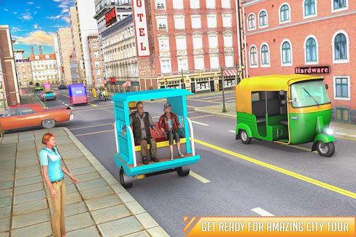 City Auto Rickshaw Tuk Tuk Driver 2019 0.1 screenshots 5