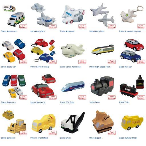 Shaped Stress Ball Toys