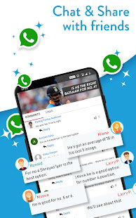 App Live Cricket Score, Video, News,Commentary: Rooter APK for Windows Phone