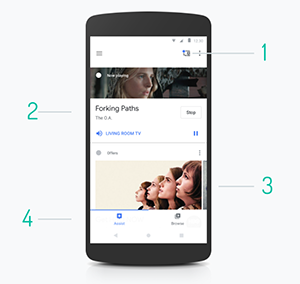 Google Home app Assist tab
