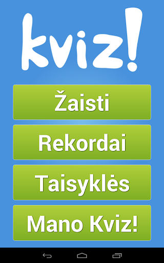 Kviz! screenshot