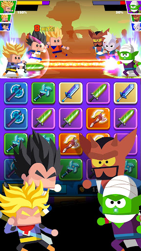 Télécharger Super Z Idle Fighters - Jeu de cartes d'action RPG mod apk screenshots 3