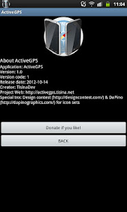 App ActiveGPS - GPS booster APK for Windows Phone
