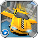 Flying Taxi Public Transporter icon