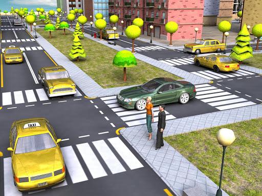 Real Taxi parking 3d Simulator  screenshots 8