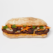 Satay Mushroom Sandwich (Ve)