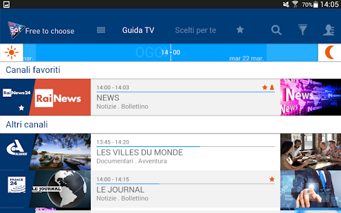 Guida TV gratuita su HOTBIRD- miniatura screenshot