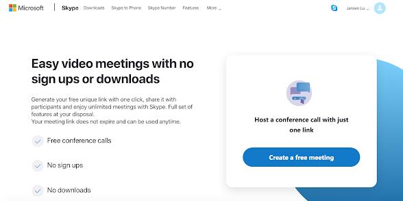 Skype Meet Now提供免費而方便的Video Conference服務