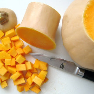 Roasted Butternut Squash With Brown Butter & Nutmeg.
