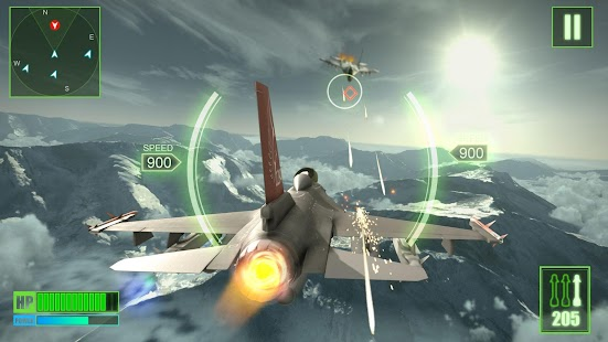 Frontline Warplanes Screenshot