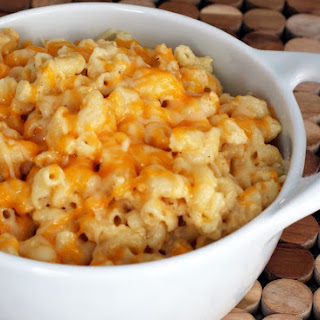 Slow Cooker Macaroni and Cheese.