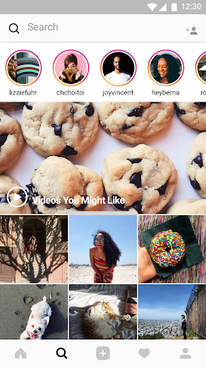 Screenshot 4 for Instagram's Android app'