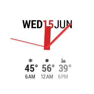 InstaWeather for Android Wear Android 15