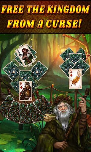 Shadow Kingdom Solitaire. Adventure of princess filehippodl screenshot 3