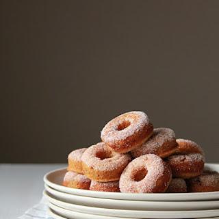 Mini Cinnamon Sugar Pumpkin Spiced Donut Recipe