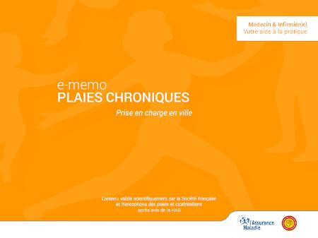 e-mémo plaies chroniques 0.0.2 screenshot 1316223