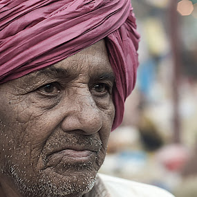 In City Of Joy by Soumyadip Maity - People Portraits of Men ( old, kolkata, india, bengal, man,  )