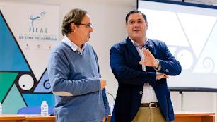 Paco Alonso (a la derecha), junto a Federico Utrera.