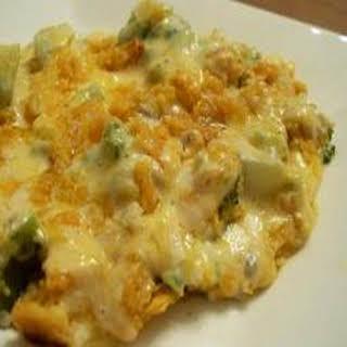 Broccoli Cheese Casserole.