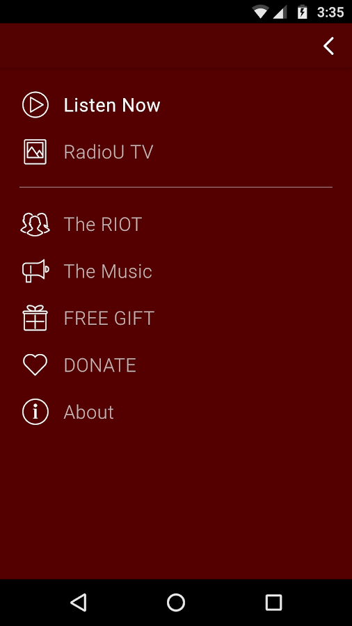 RadioU – Where Music Is Going- screenshot