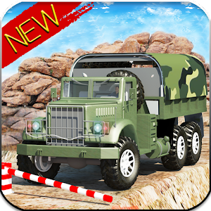 Drive Army Truck Check Post for PC and MAC