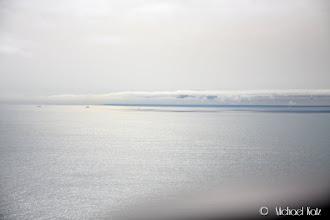 Photo: Den Engelske kysten dukker opp ganske fort.
