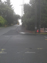Photo: Looking east down NE 115th St from the west side of 5th Ave NE.