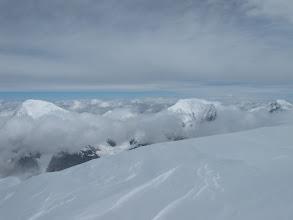 Photo: widok z grani na stronę Kazachską.