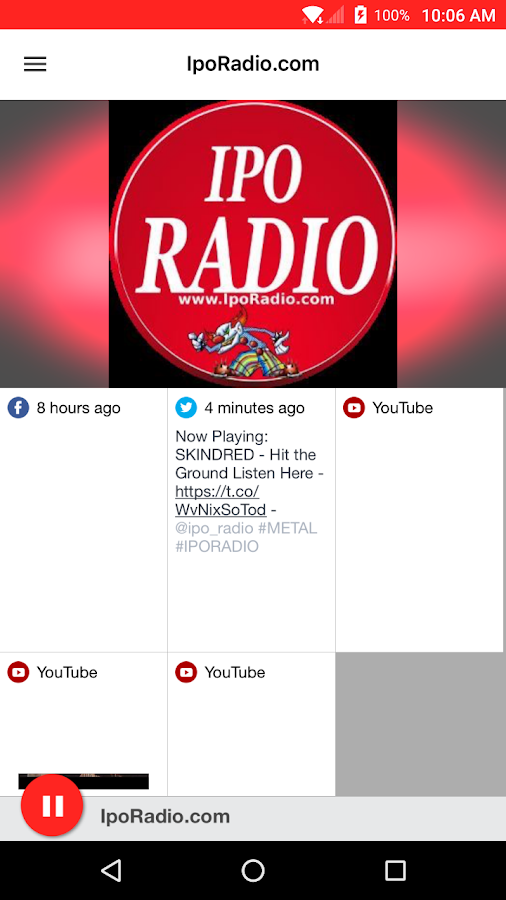 IpoRadio.com- screenshot
