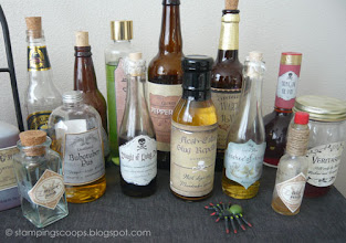 Photo: Potion Bottles for Decoration