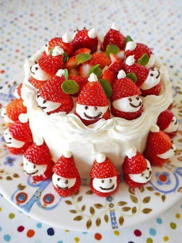 Japanese Christmas Cake   Just A Pinch Recipes