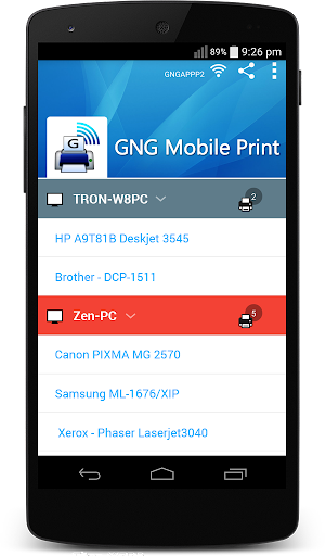 GNG Mobile Print