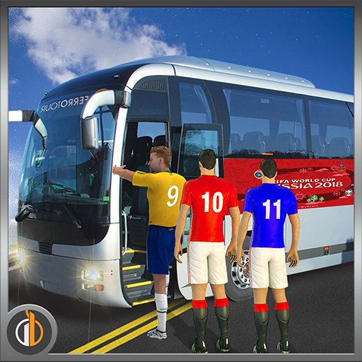 Mega Bus Transporter Sim 2018 for Football Champs