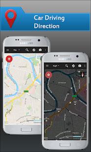 Zdarma Offline mapy a navigace GPS pro auto - náhled
