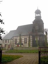 Photo: Kościół p.w. św. Kazimierza z 1738 r. o konstrukcji szachulcowej w Gułtowach
