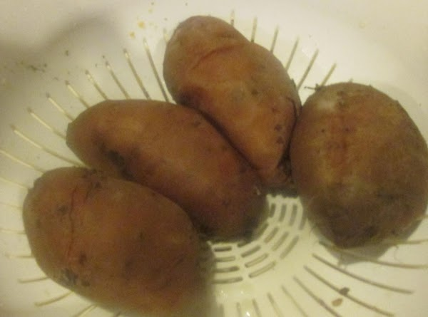 Add the sweet potatoes to a large pot and cover with water, and cook...